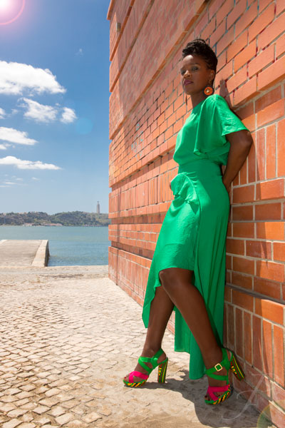 model-african-lisbon-fashion-shoes-city-green-river